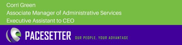 Corri Green Executive Assistant to CEO